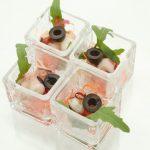 タコと旬野菜のペペロンチーノ風