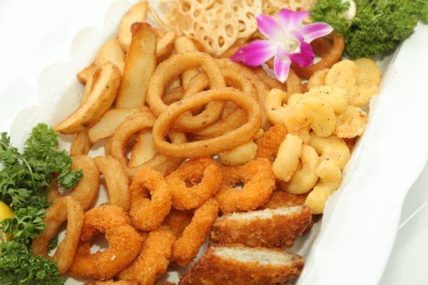 シーフード&季節野菜のミックスフリット