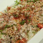 ポークの冷製サラダ仕立