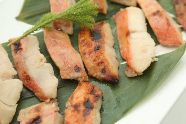 季節の魚の西京みそ焼き